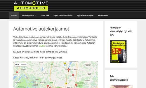 Automotive Autohuolto Helsinki